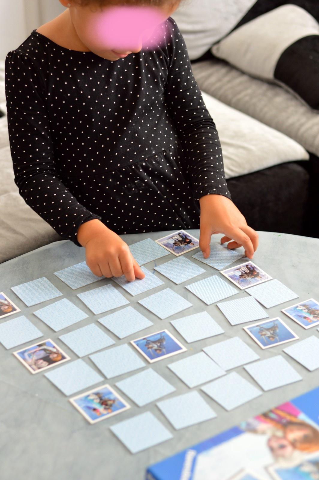 Jeu De Mémoire - La Reine De Neiges - Enfant Bébé Loisir à Jeux Memoire Enfant
