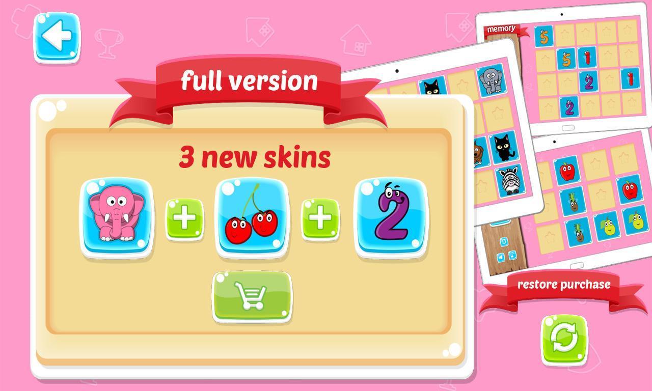 Jeu De Mémoire Pour Enfants For Android - Apk Download à Jeux De Memory Pour Enfants