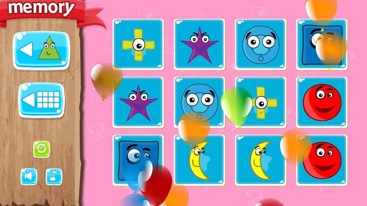 Jeu De Mémoire Pour Enfants For Android - Apk Download concernant Jeux De Memory Pour Enfants