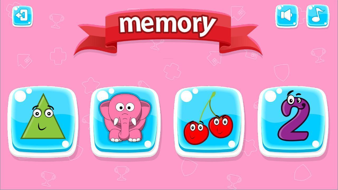 Jeu De Mémoire Pour Enfants For Android - Apk Download encequiconcerne Jeux De Memoire Pour Enfant