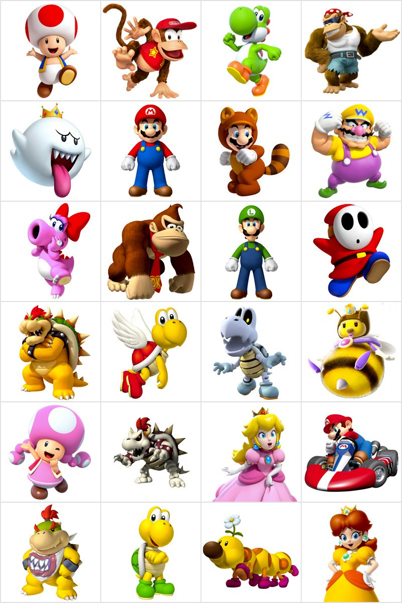 Jeu De Memory À Imprimer - Mario Kart - Imprimez Et Découpez intérieur Jeux De Memory Pour Enfants
