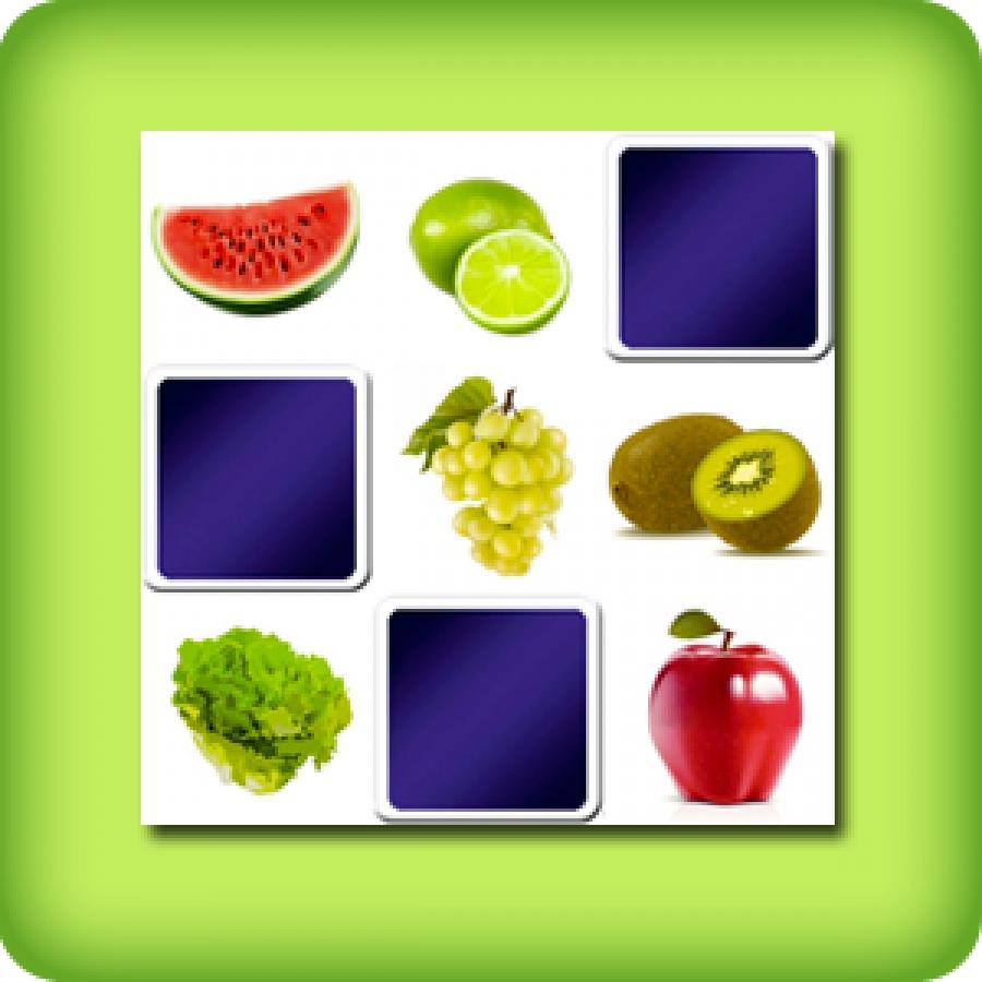 Jeu De Memory Adulte - Les Fruits Et Légumes - En Ligne Et encequiconcerne Jeux Memoire Gratuit