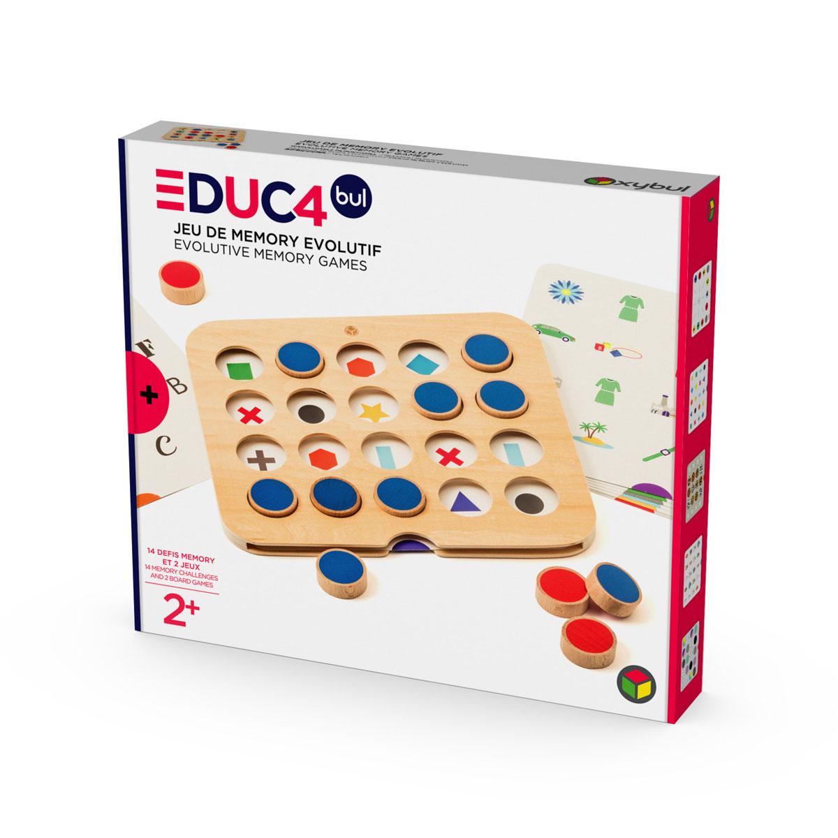 Jeu De Memory Évolutif 2 En 1 concernant Jeux De Memory Pour Enfants