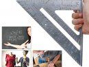 Jeu De Mesure 90 & 45 Degrés Rule Triangulaire En Alliage D'aluminium Carré destiné 90 Degrés Jeux