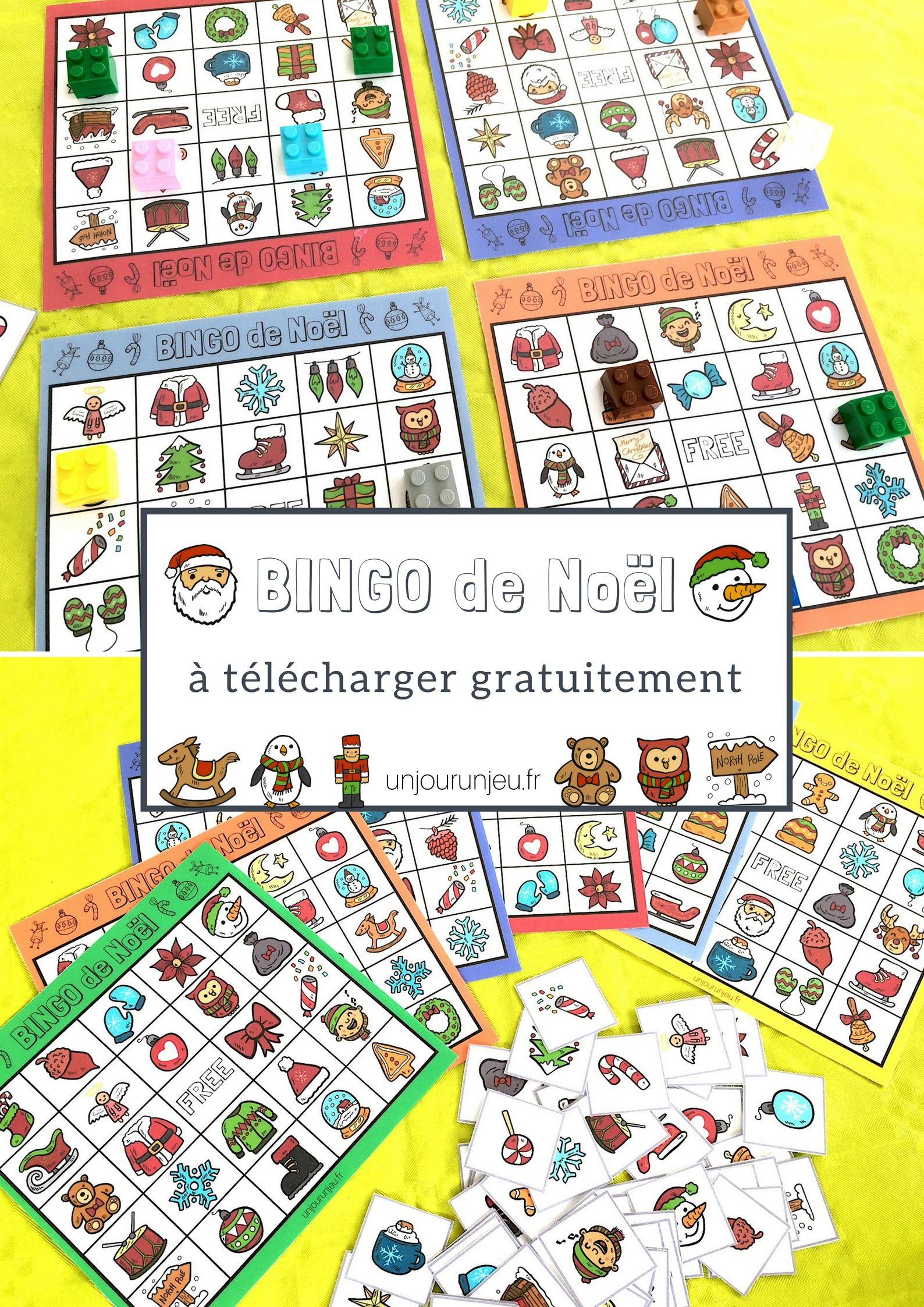 Jeu De Noël : Bingo À Télécharger Gratuitement Pour Vos encequiconcerne Telecharger Jeux Enfant