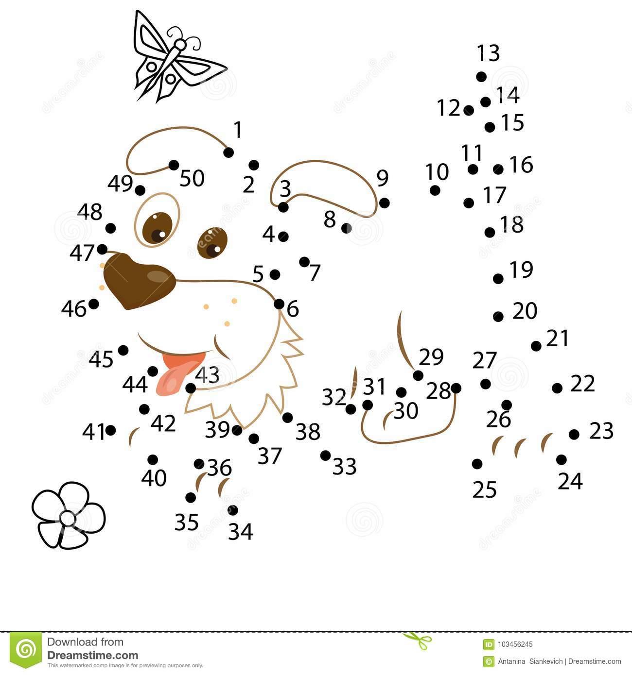 Jeu De Nombres Pour Des Enfants Point Pour Pointiller Le Jeu destiné Jeux Avec Des Nombres
