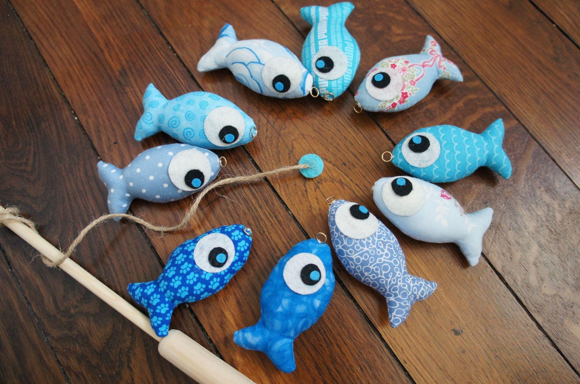 Jeu De Pêche À La Ligne En Tissu Pour Enfant | Jouets En avec Jeux Pour Bébé En Ligne