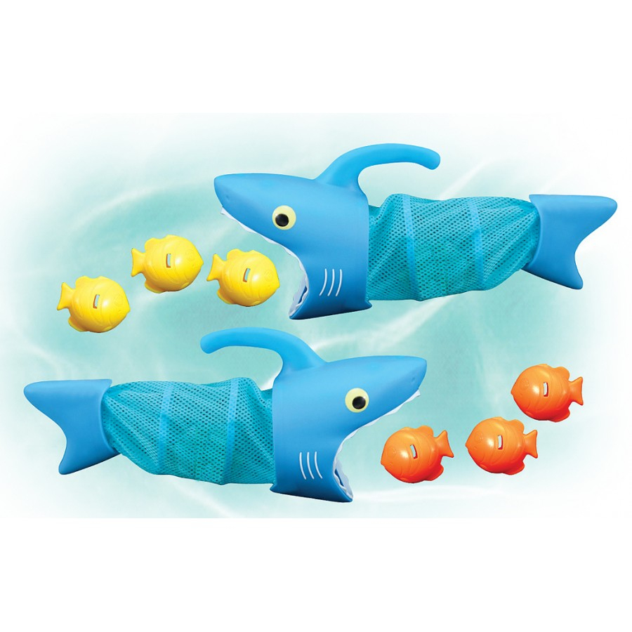 Jeu De Piscine - Requins Chasseurs De Poissons-Jeux-Julie pour Jeu De Societe Requin