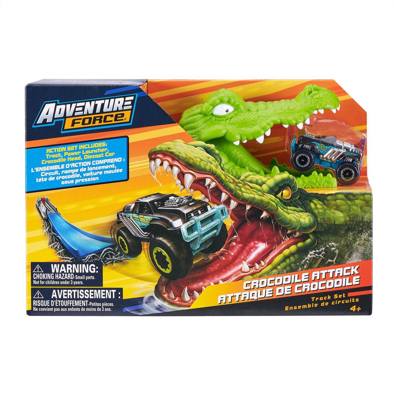 Jeu De Piste De Jouet En Forme De Mini Voiture De Course En Crocodile avec Jeux De Mini Voiture