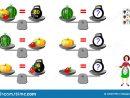 Jeu De Puzzle De Logique Mathématique Pour Des Enfants Et concernant Jeux De Logique Enfant