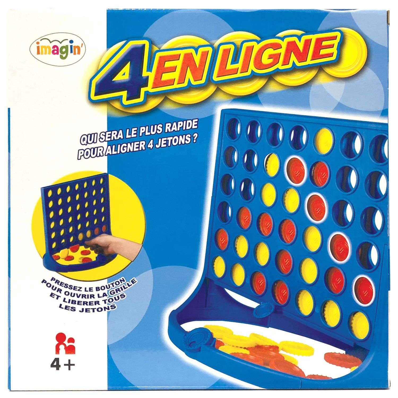 Jeu De Société - 4 En Ligne destiné Jeux Educatif 2 Ans En Ligne