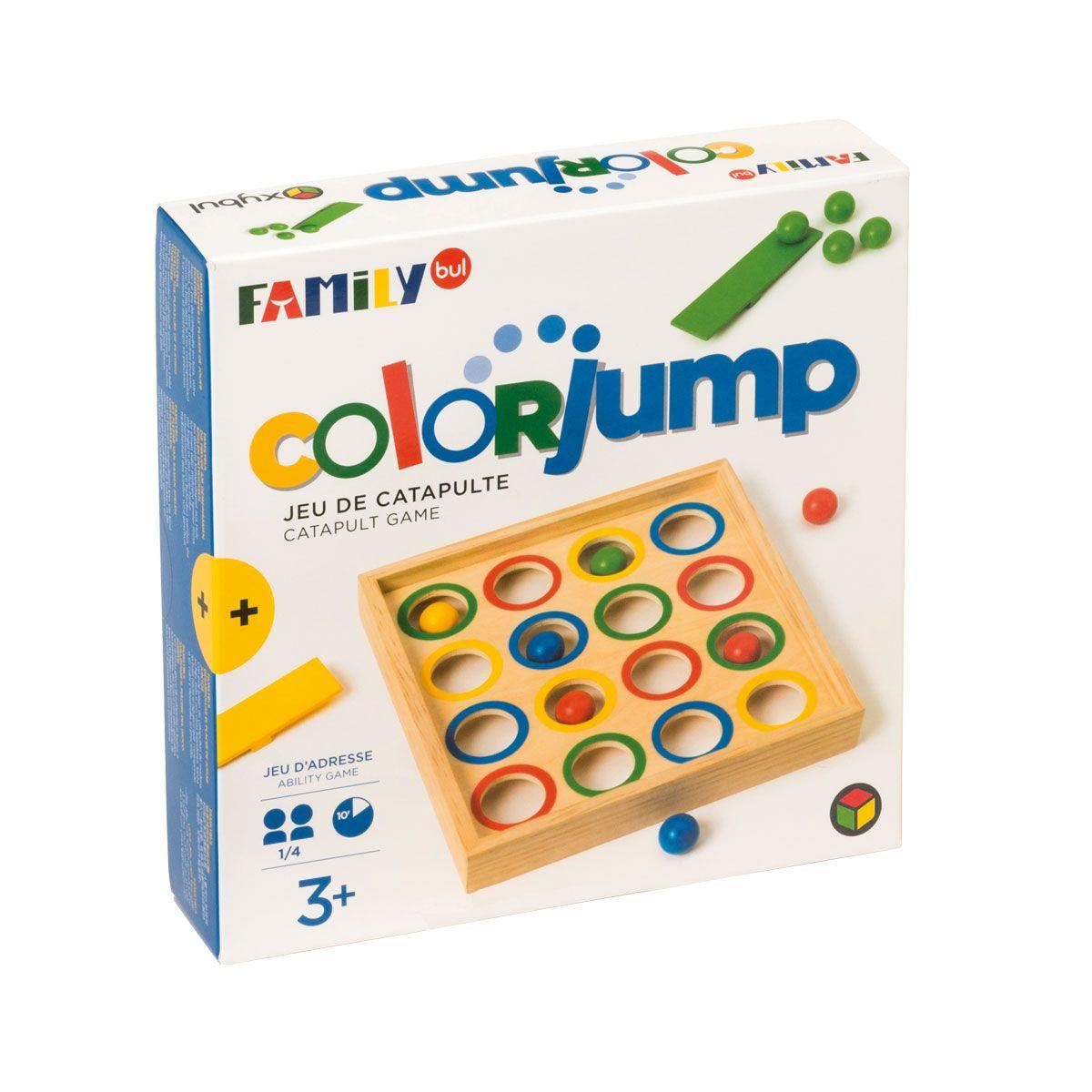 Jeu De Société Colorjump Familybul Création Oxybul | Jeux De concernant Jeux Pour Enfant De 6 Ans