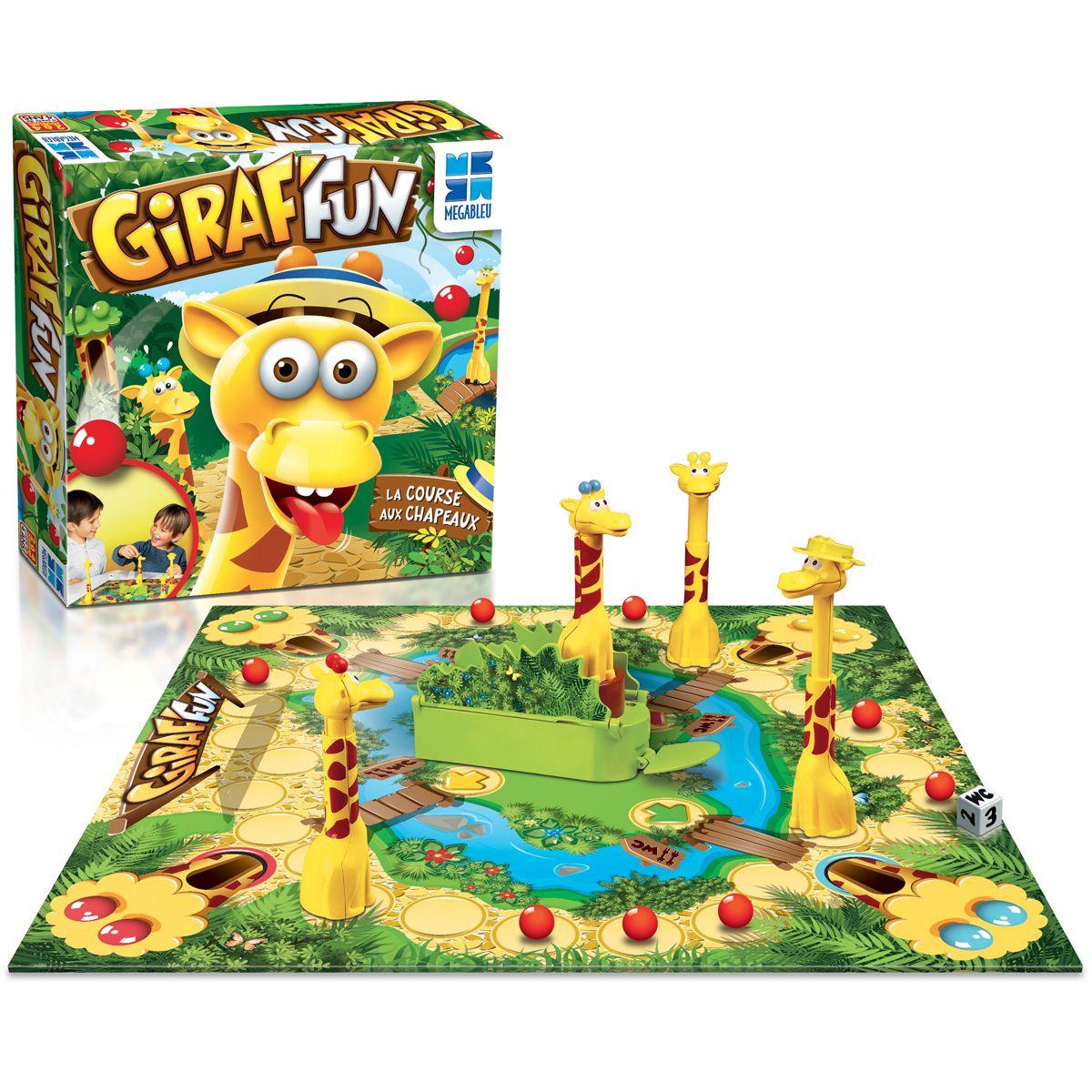 Jeu De Société Giraf'fun - Jeux De Société Et Puzzles - La dedans Jeux De Girafe Gratuit
