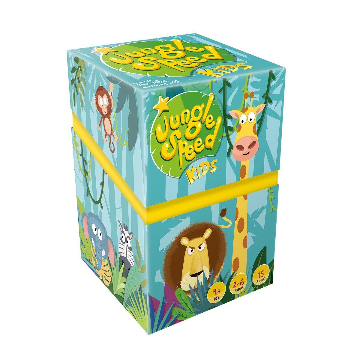 Jeu De Société Jungle Speed Kids Asmodée   Jeux De Société intérieur Jeux En Ligne Enfant 4 Ans