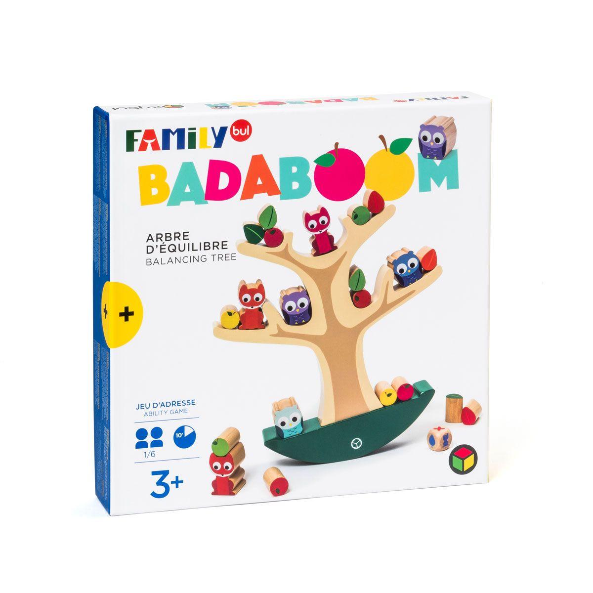 Jeu De Société L'arbre D'équilibre Badaboom Familybul dedans Jeux Pour Enfant De 3 Ans