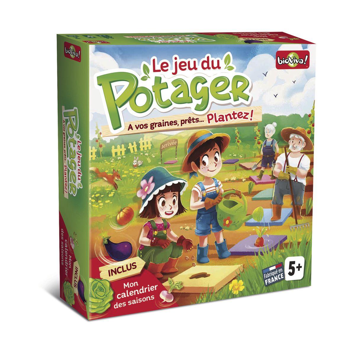 Jeu De Société Le Potager Dès 5 Ans serapportantà Jeux Video 5 Ans