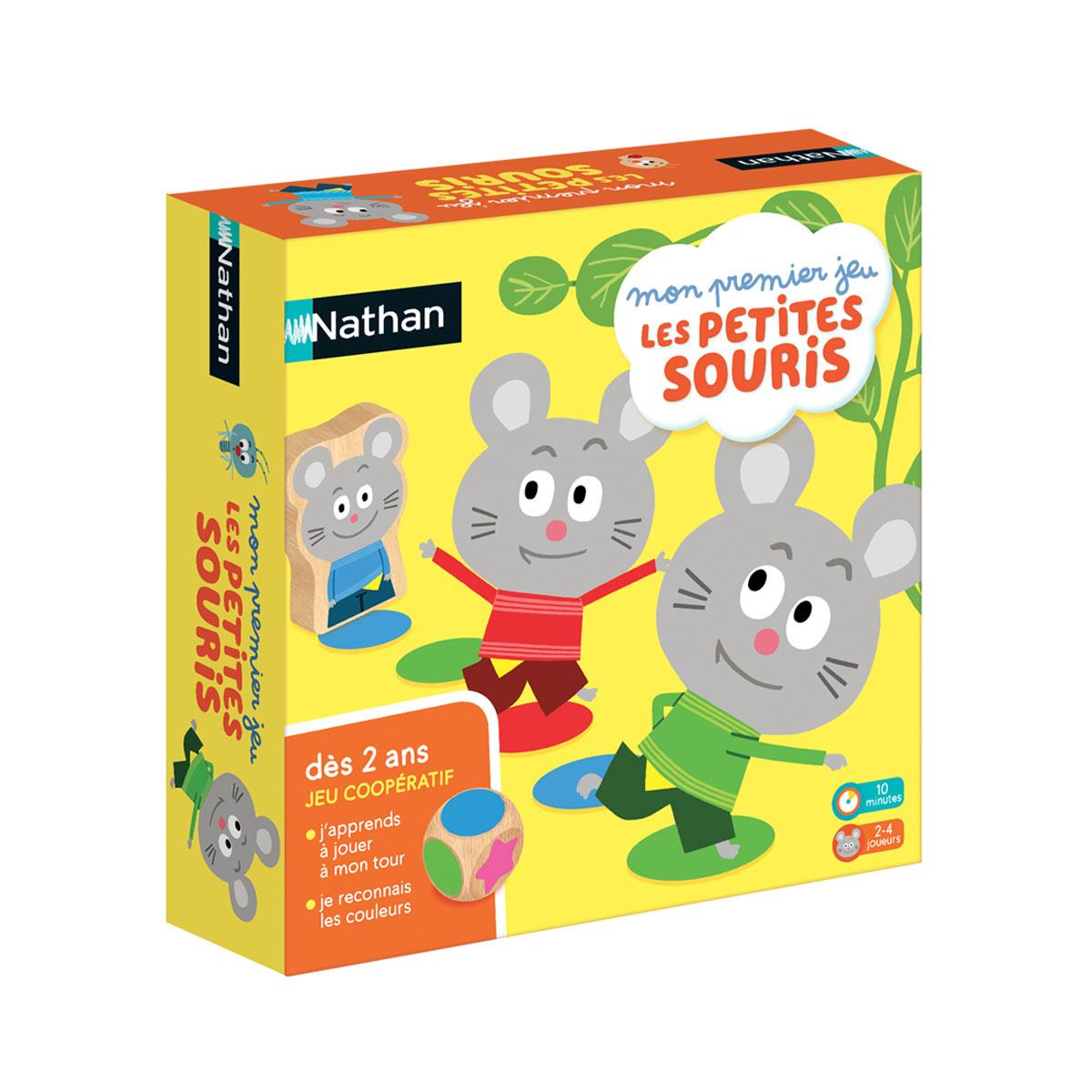 Jeu De Société Les Petites Souris Intérieur Jeux Educatif 4 v