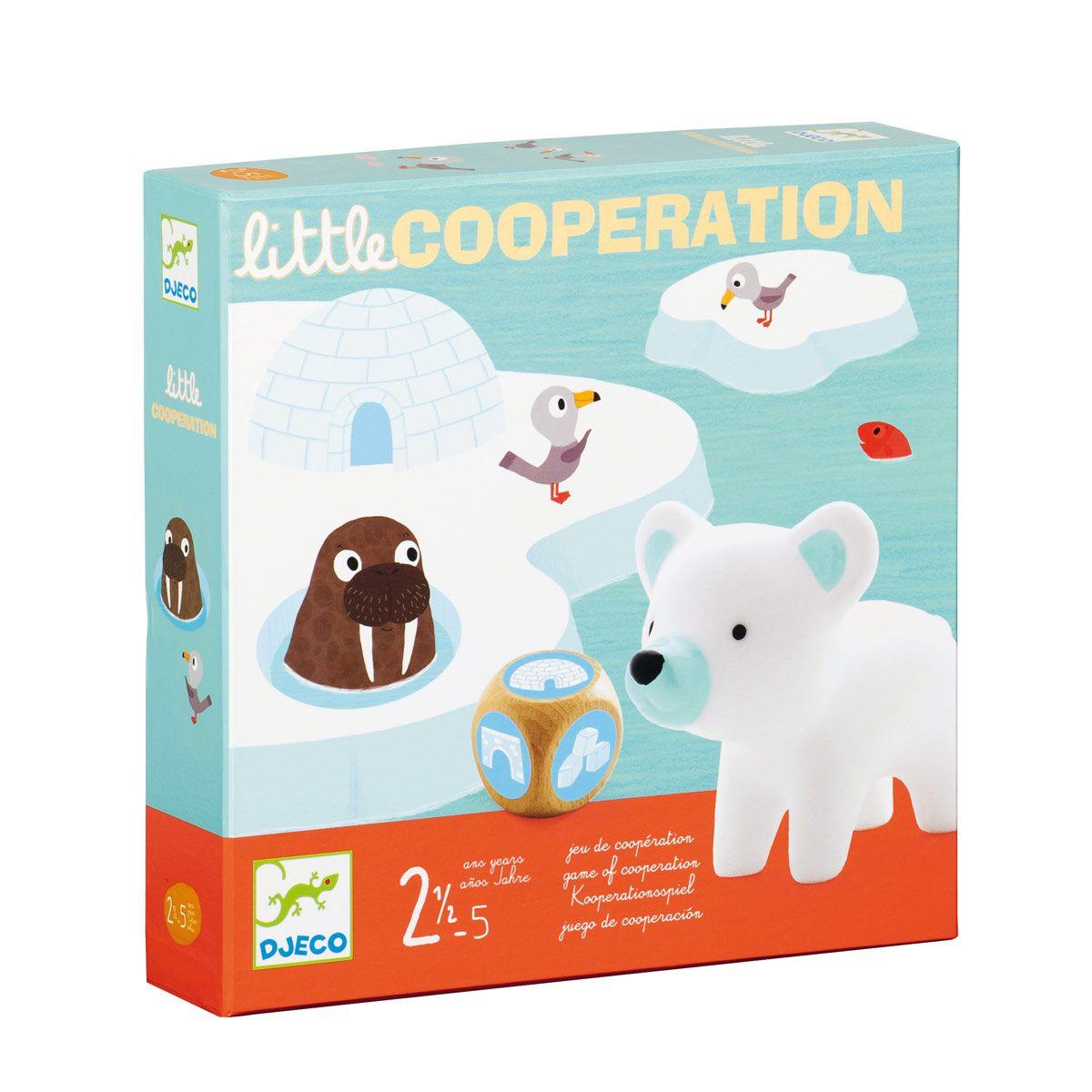 Jeu De Société Little Coopération Djeco | Jeux Coopératifs avec Jeux Pour 3 5 Ans