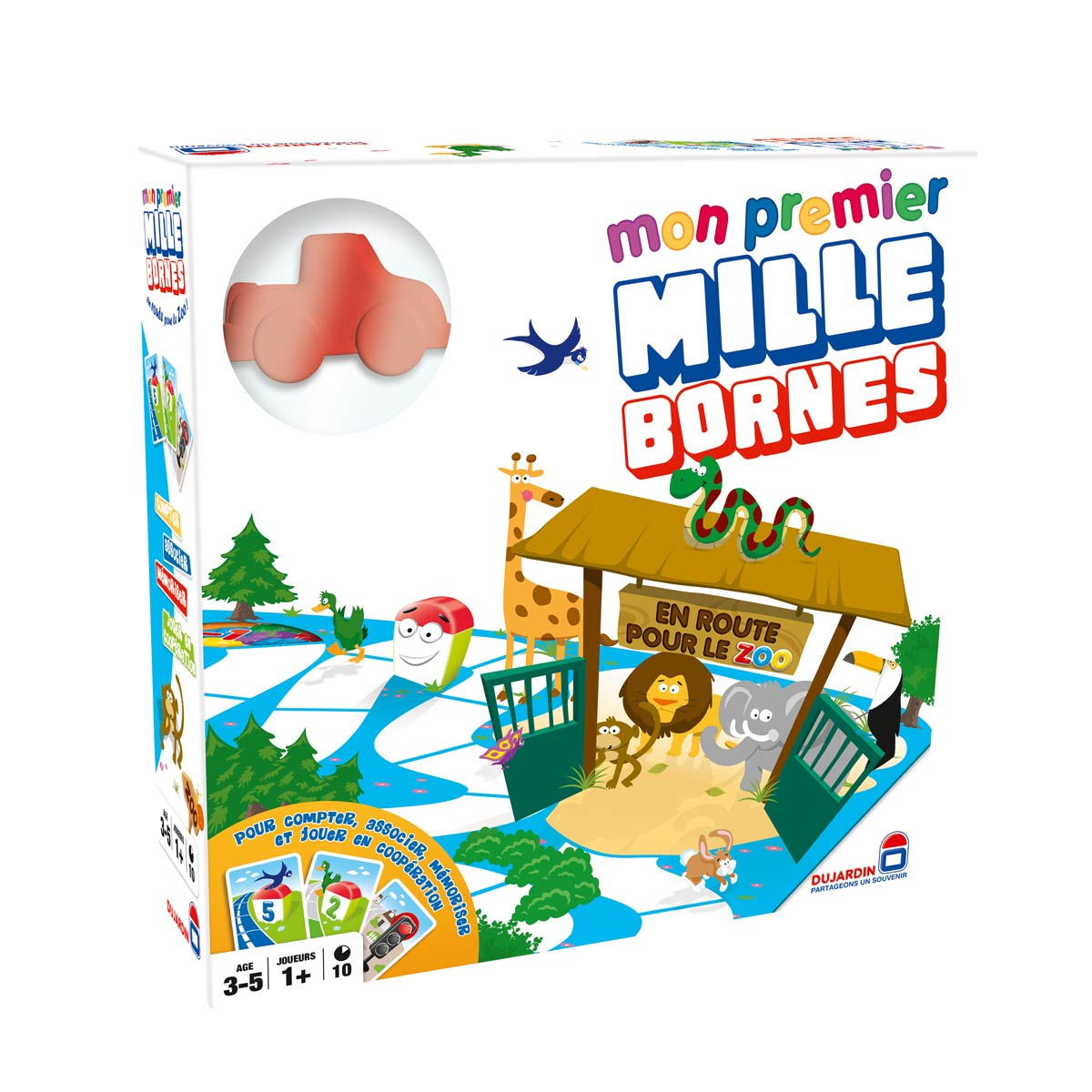 Jeu De Société Mon Premier Mille Bornes concernant Jeux Enfant De 3 Ans