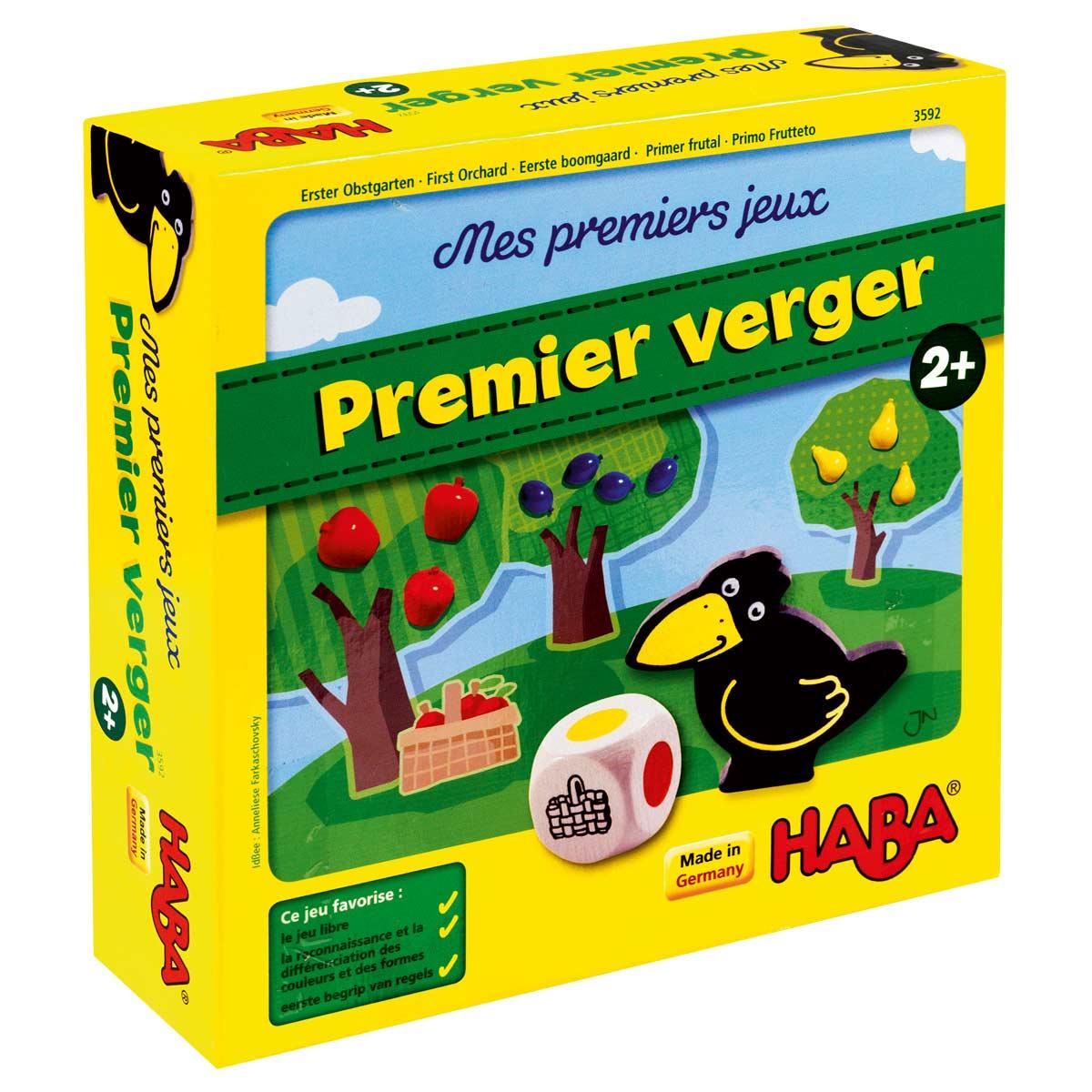 Jeu De Société Mon Premier Verger serapportantà Jeux Educatif Gratuit 2 Ans