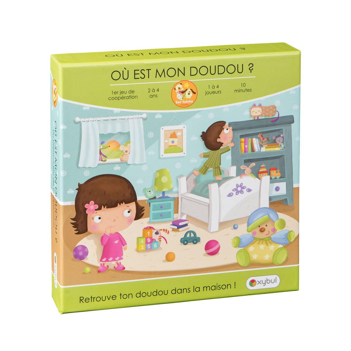 Jeu De Société Où Est Mon Doudou ? serapportantà Jeux Educatif 2 Ans Gratuit