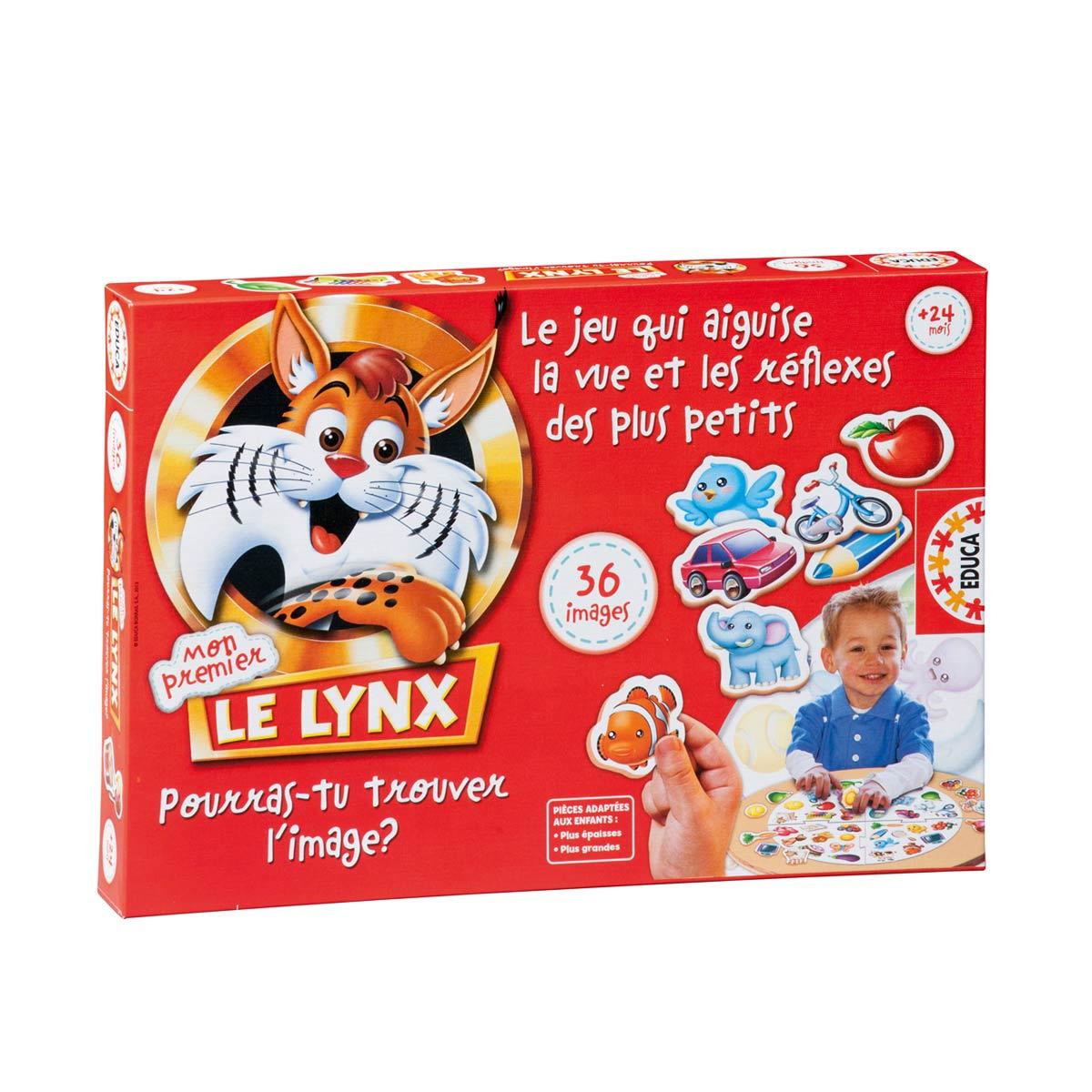 Jeu De Société Premier Lynx tout Jeux De Petit Garçon De 3 Ans