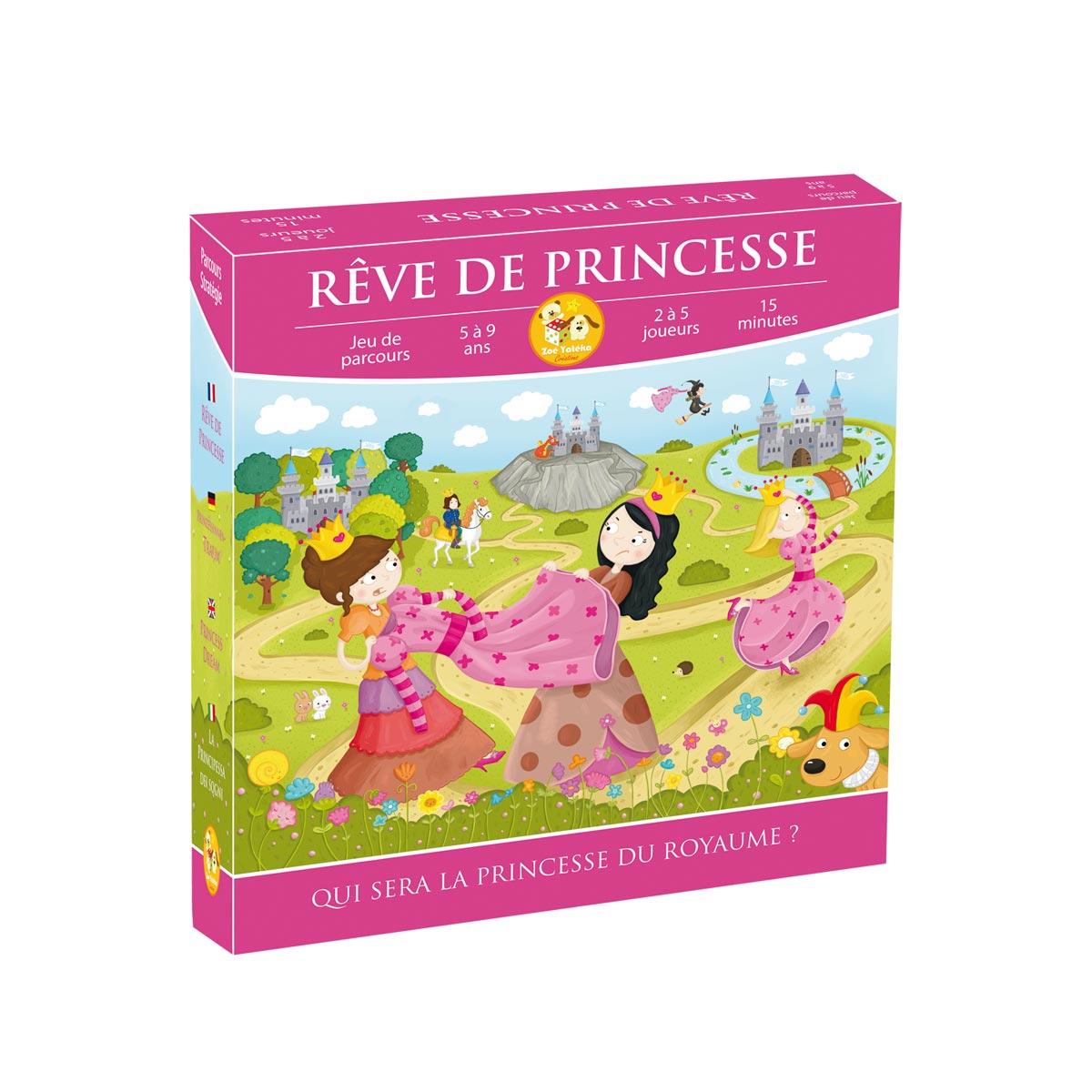 Jeu De Société Rêve De Princesse avec Jeux Gratuit Fille 5 Ans