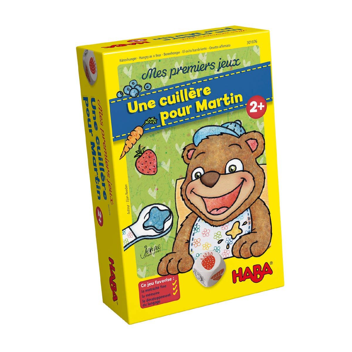 Jeu De Société Une Cuillère Pour Martin concernant Jeux De Memoire Enfant