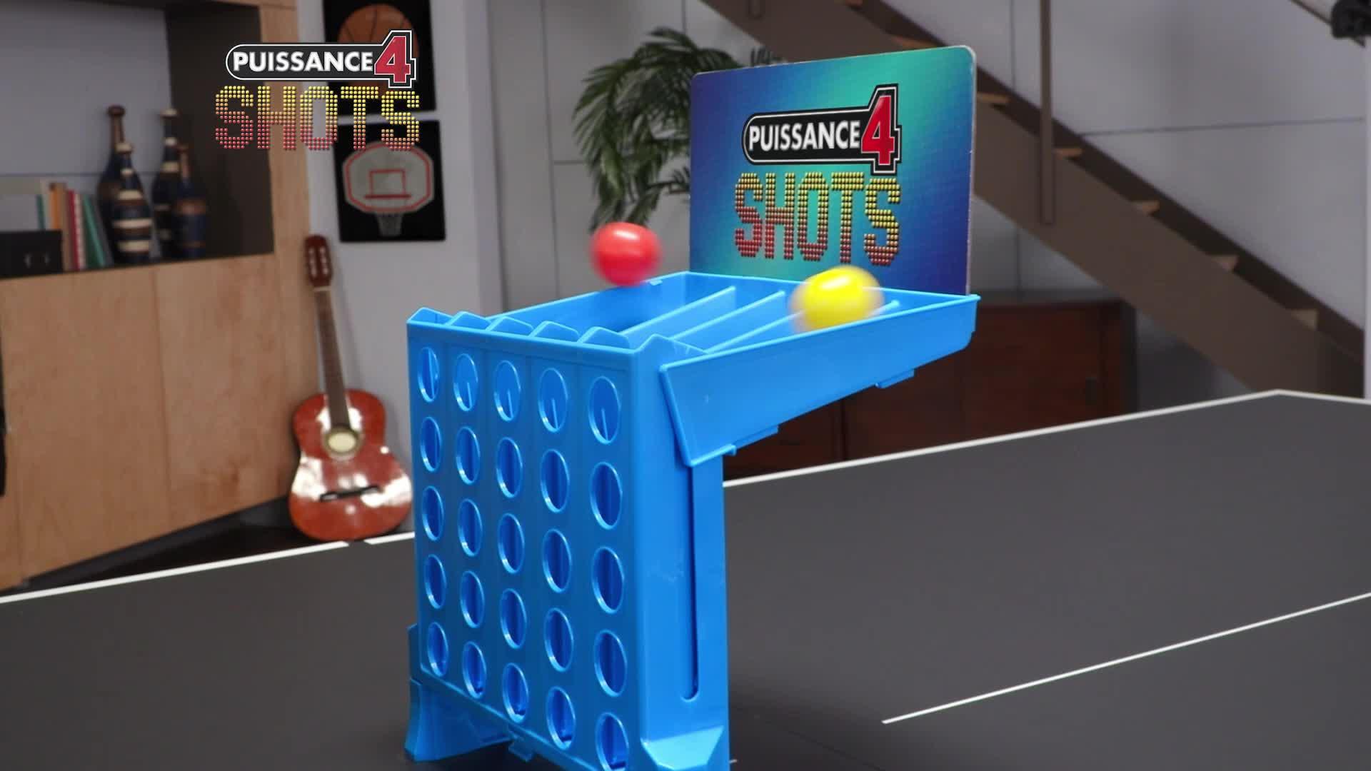 Jeu De Stratégie Hasbro Puissance 4 Shots tout Jeux Gratuit Puissance 4