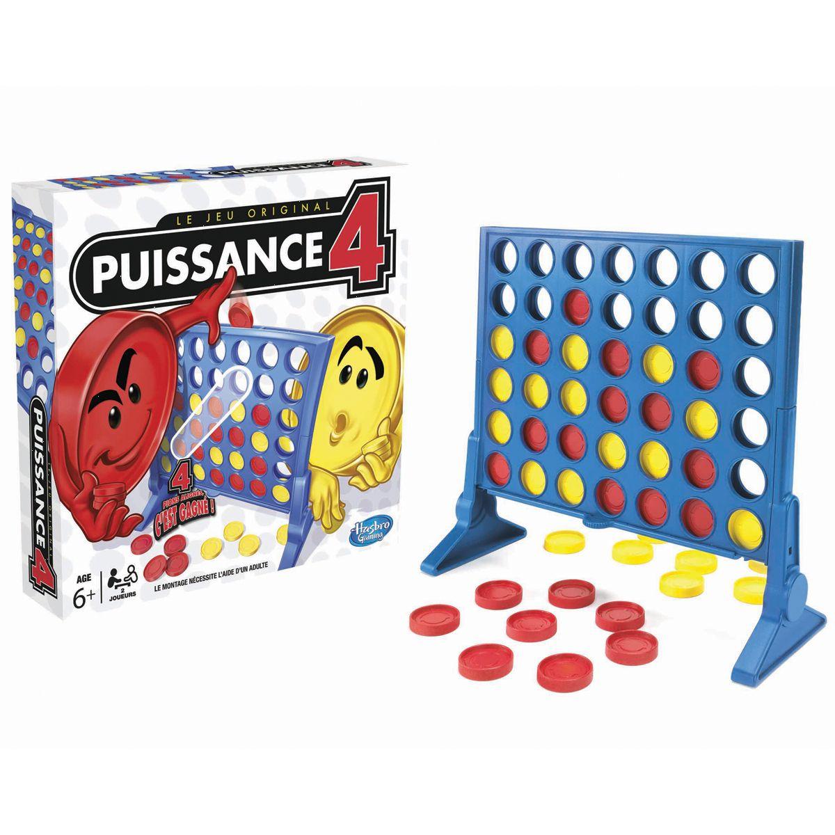 Jeu De Stratégie Puissance 4 - Jeux De Société Et Puzzles intérieur Jeux Du Puissance 4