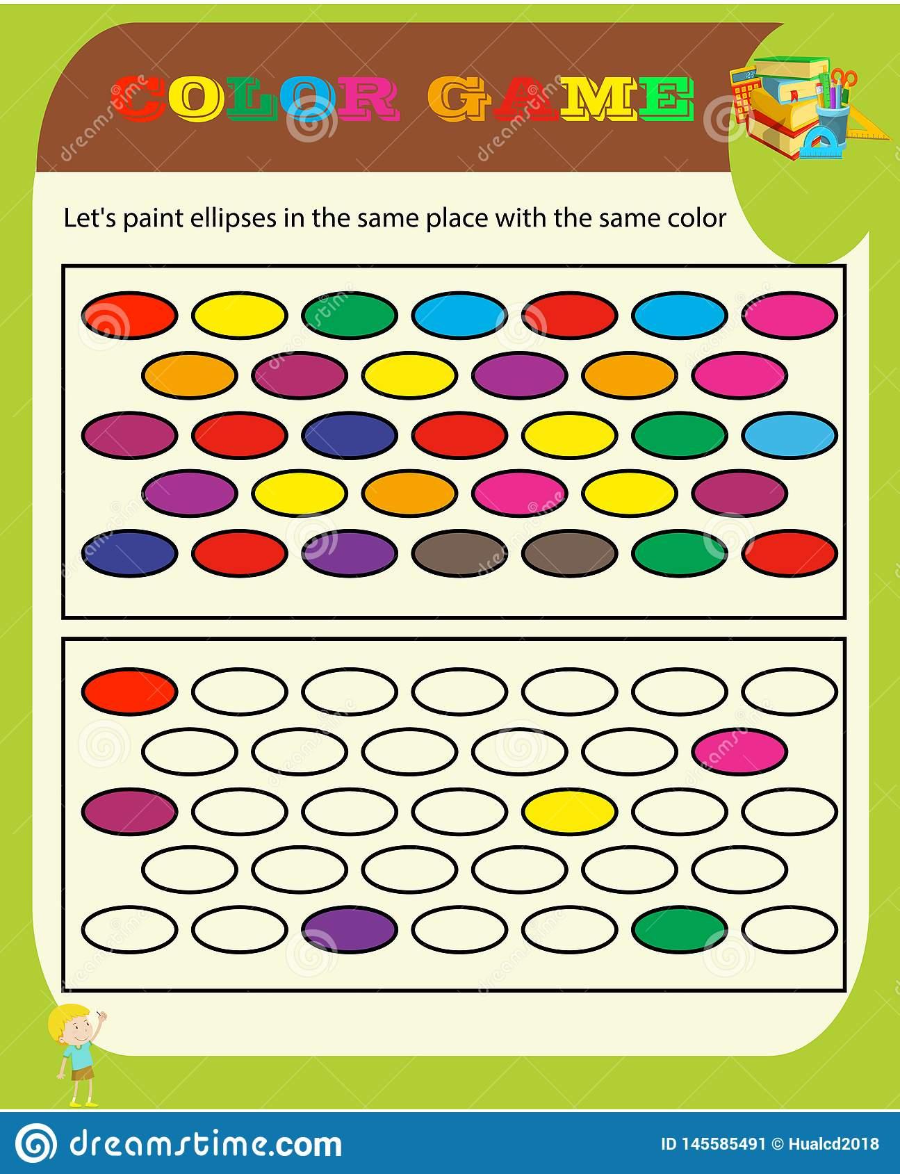 Jeu De Sudoku De Jeu De Couleur Avec Des Images Pour Des dedans Sudoku Pour Enfant