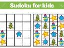 Jeu De Sudoku Pour Les Enfants Avec Des Images. Jeu De Logique Pour Les  Enfants D'âge Préscolaire. Rébus Pour Les Enfants. Illustration Vectorielle  De tout Jeu Le Sudoku