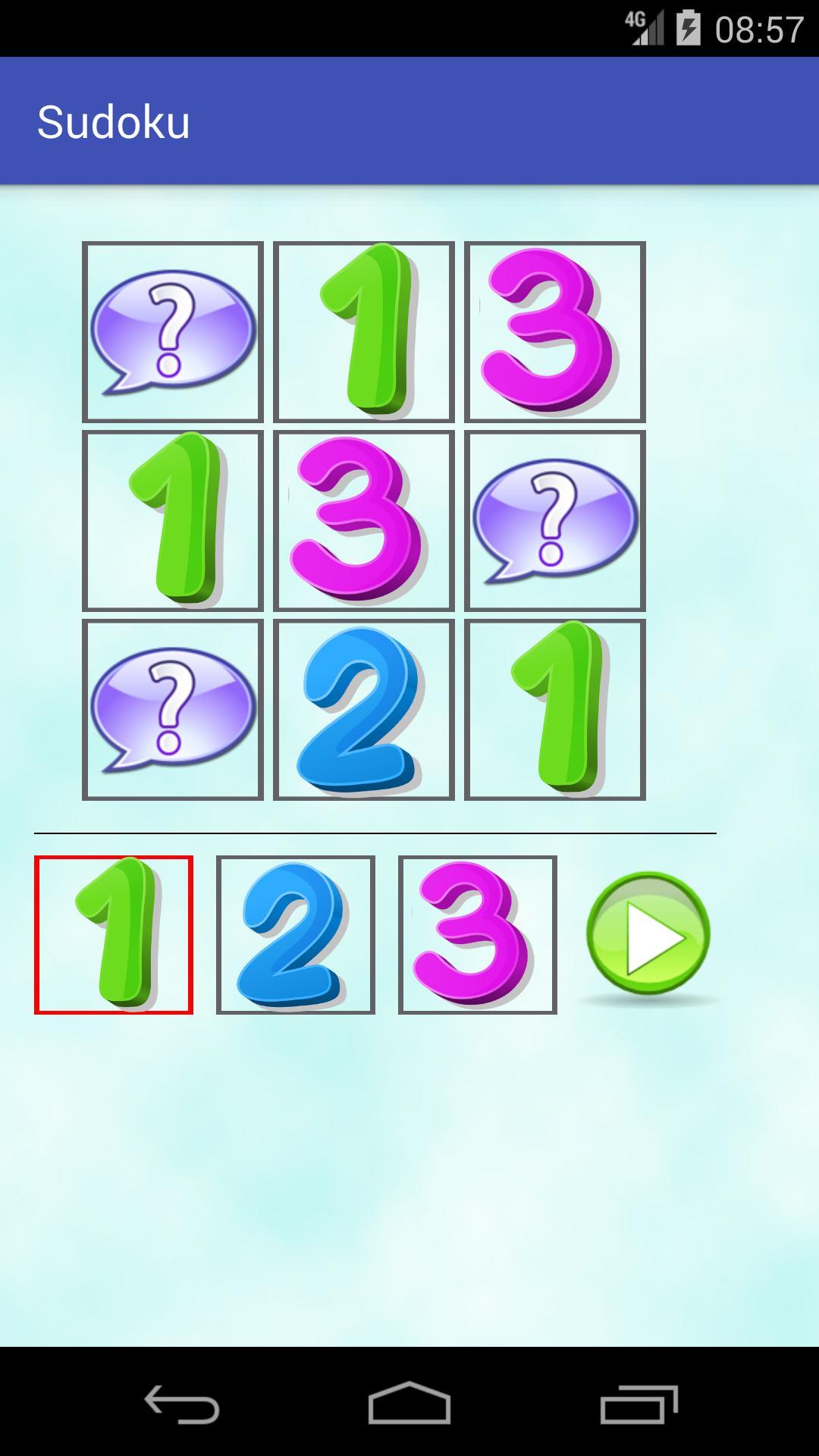 Jeu De Sudoku Pour Les Enfants Pour Android - Téléchargez L'apk dedans Sudoku Gratuit Enfant