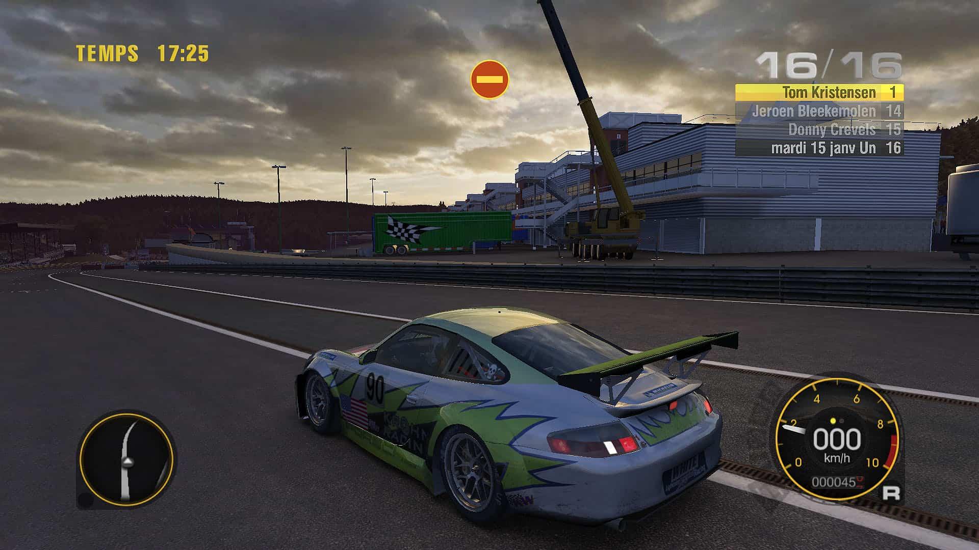 Jeu De Voiture De Course Sur Circuit - Course Automobile à Un Jeu De Voiture De Course