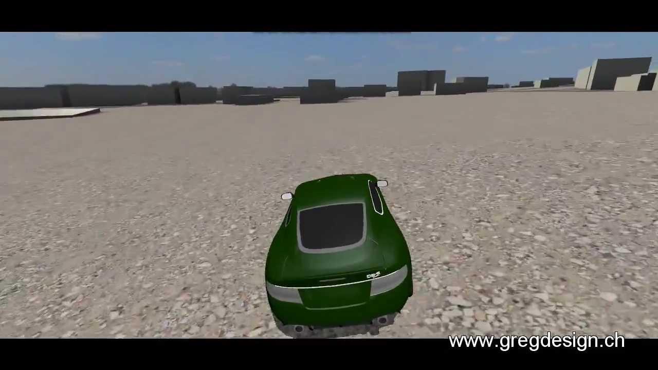 """Jeu De Voiture Gratuit """"aston Car City"""" À Télécharger (Blender Game Engine) à Jeu D Voiture Gratuit"""