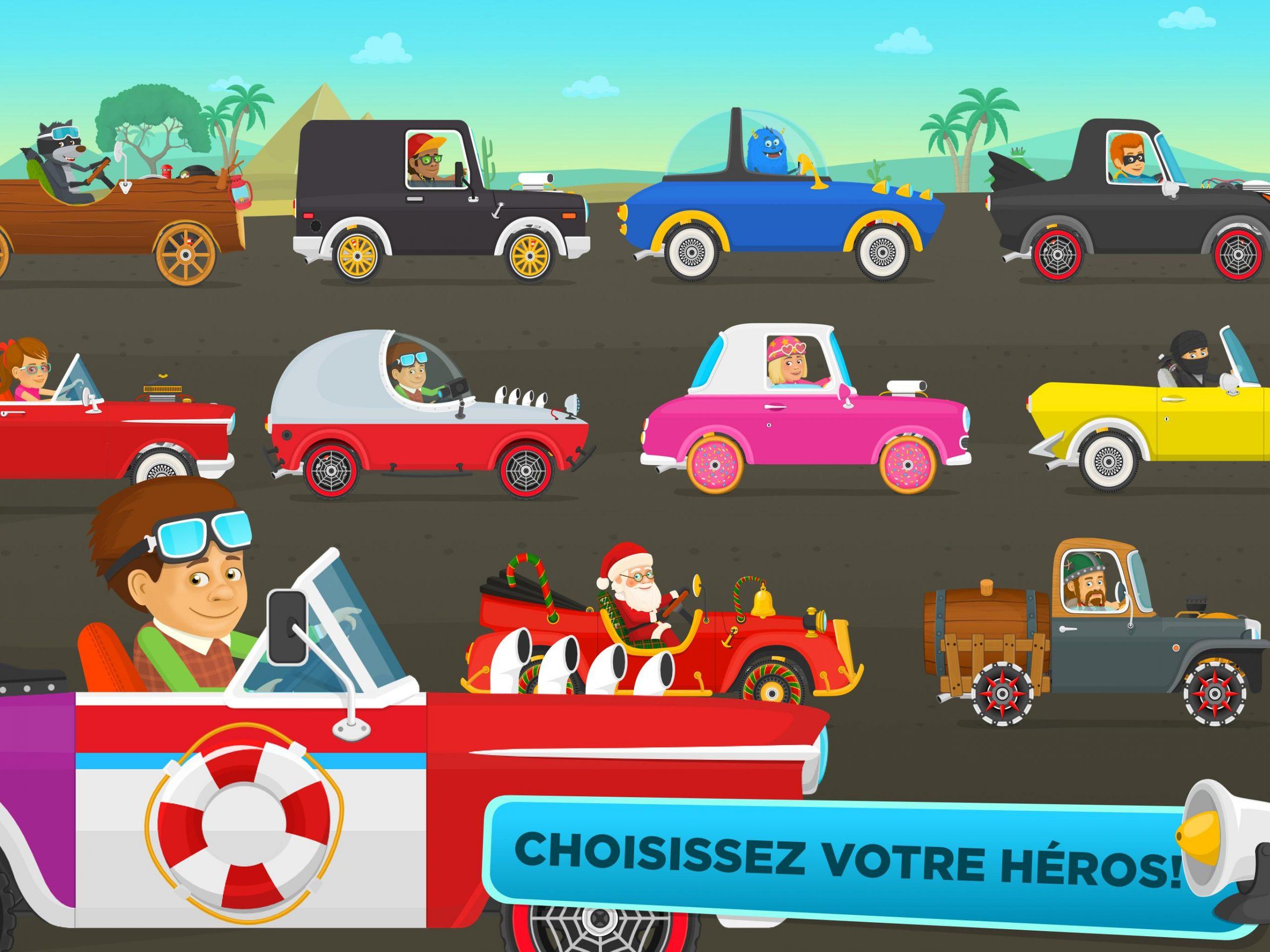 Jeu De Voiture Gratuit Pour Les Enfants - Courses Pour destiné Jeux De Course De Voiture Pour Enfan