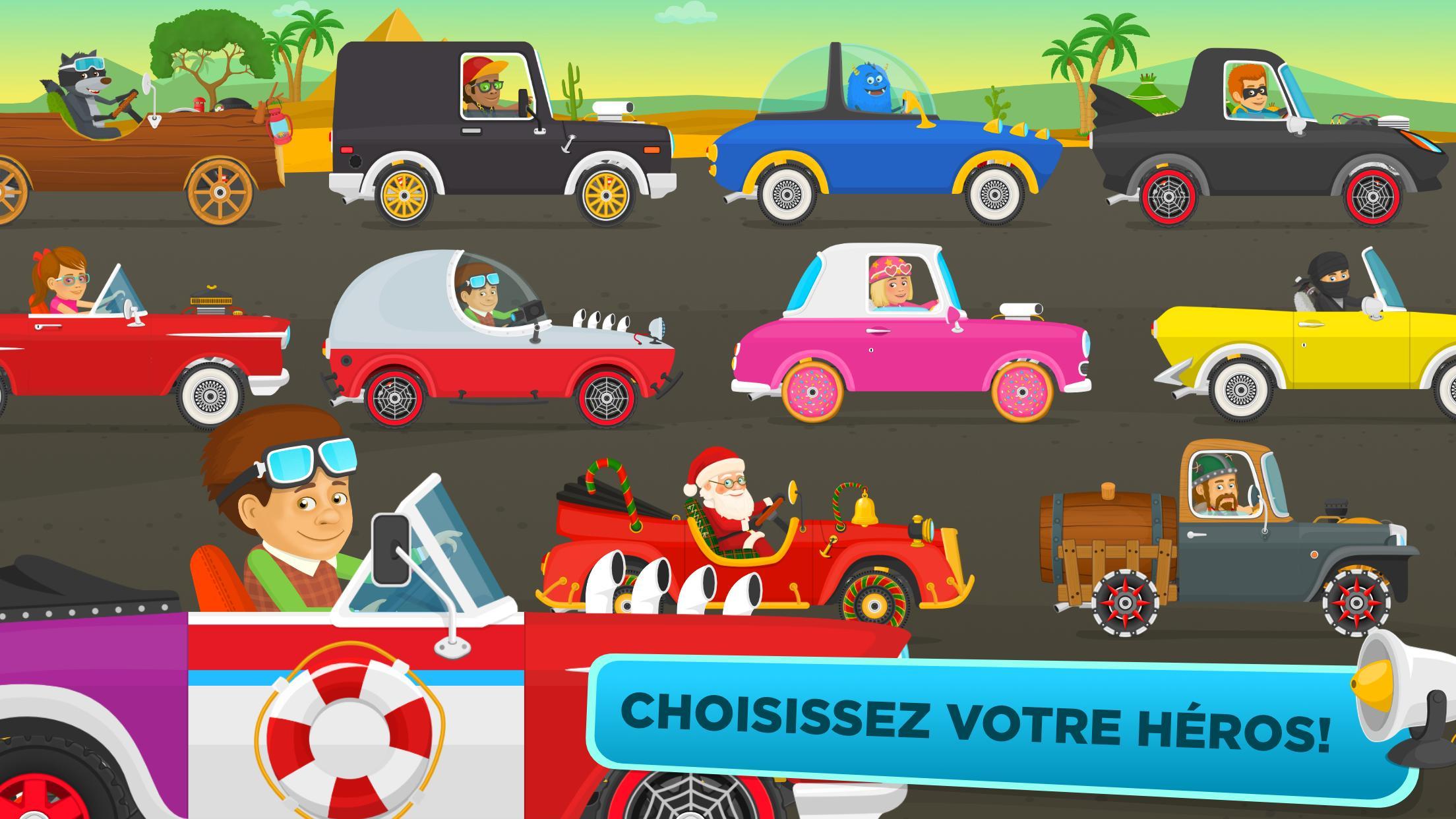 Jeu De Voiture Gratuit Pour Les Enfants - Courses Pour pour Jeux De Voiture Gratuit Pour Enfan