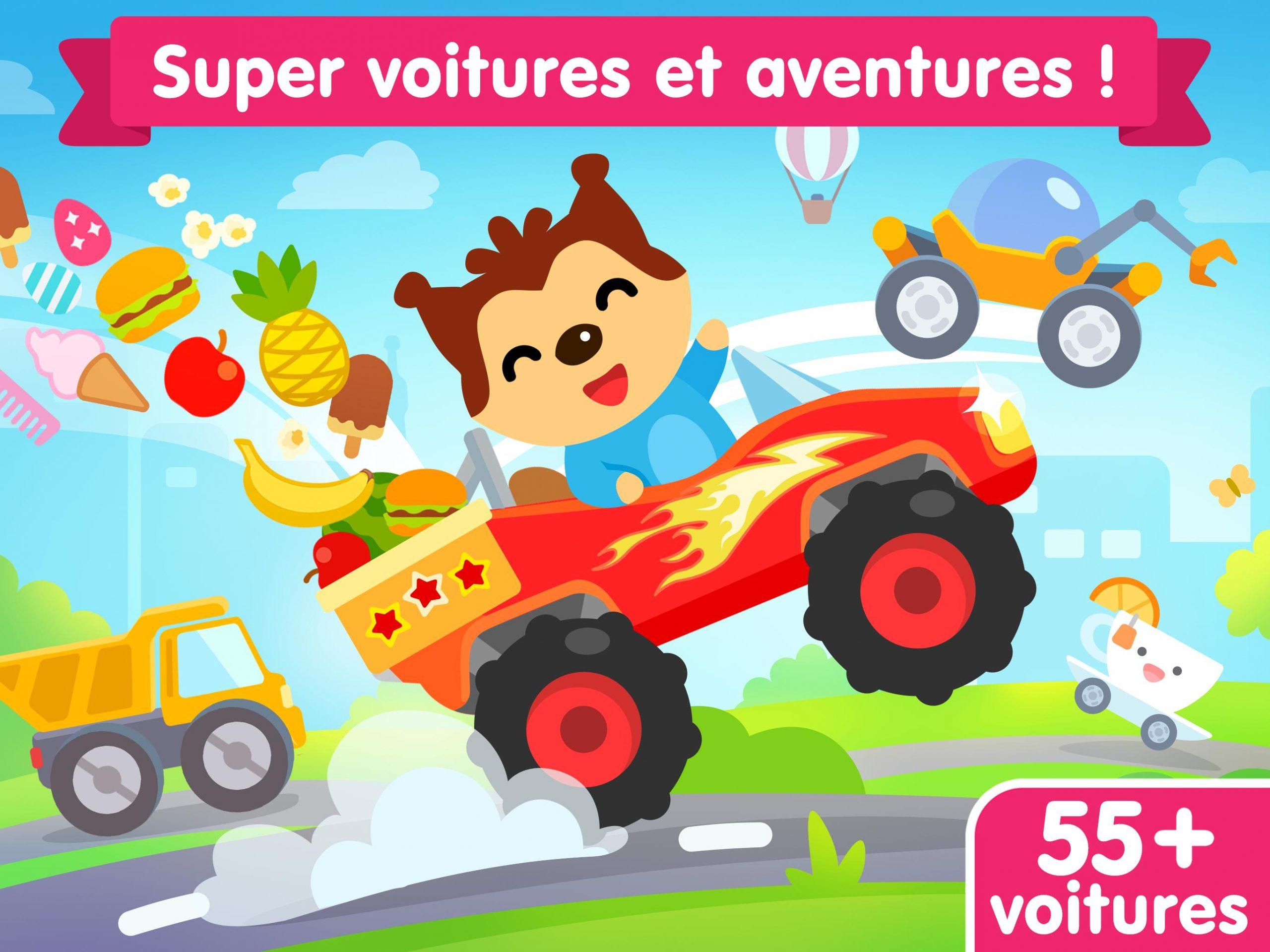 Jeu De Voiture Pour Les Bébés Et Enfants 3 Ans Pour Android concernant Jeux De Voitures Pour Enfants