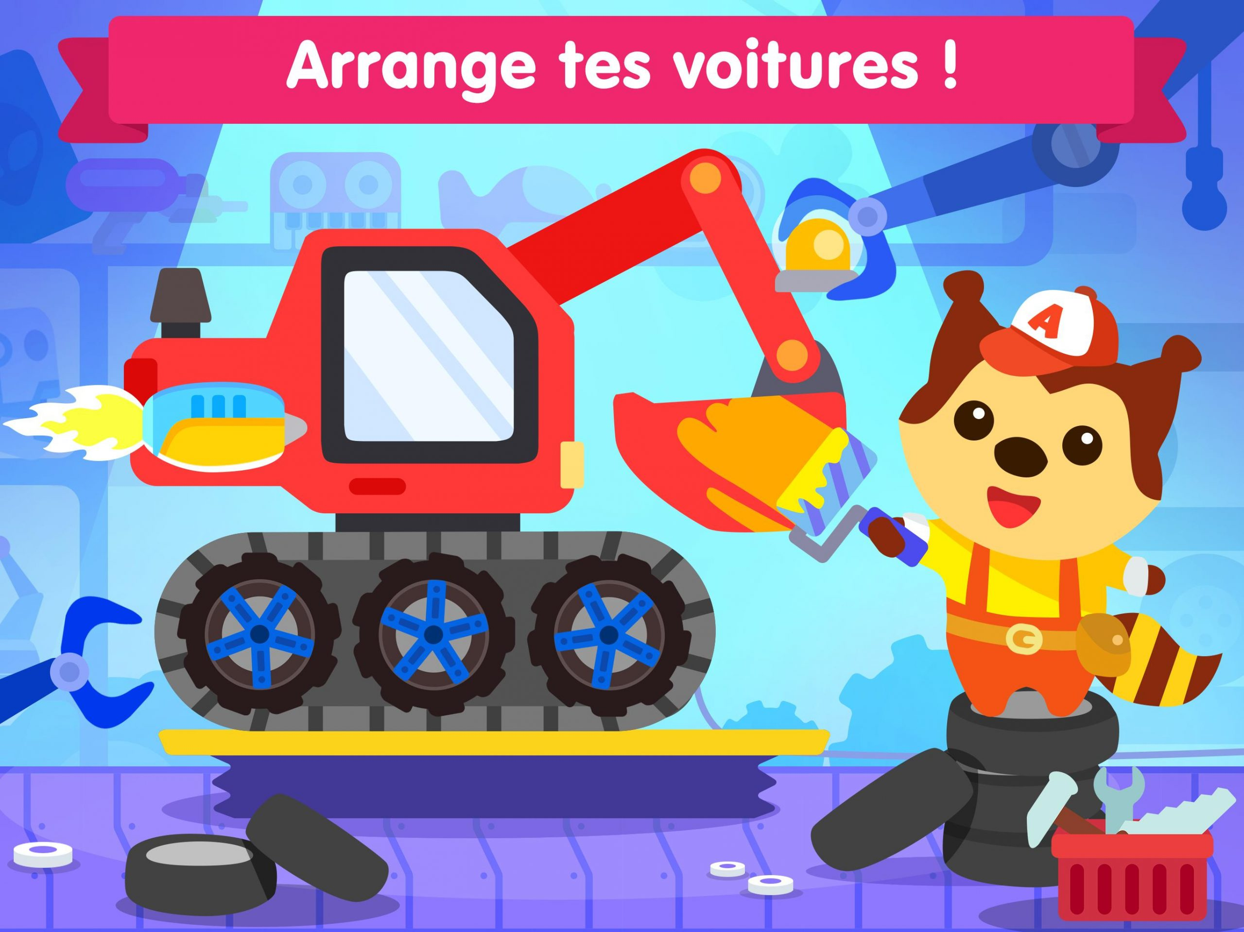Jeu De Voiture Pour Les Bébés Et Enfants 3 Ans Pour Android concernant Jeux Gratuit Enfant De 3 Ans