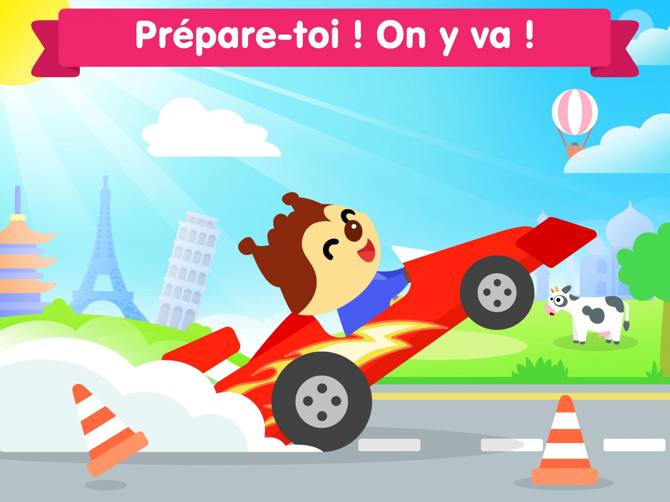 Jeu De Voiture Pour Les Bébés Et Enfants 3 Ans Pour Android destiné Jeux Gratuit Enfant 3 Ans