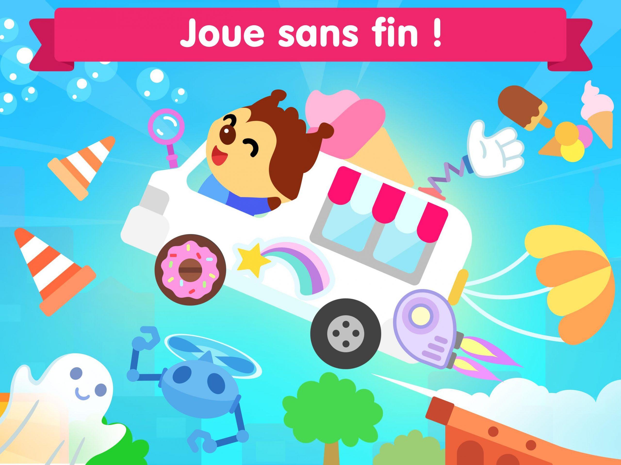 Jeu De Voiture Pour Les Bébés Et Enfants 3 Ans Pour Android intérieur Jeux Gratuit Enfant 3 Ans