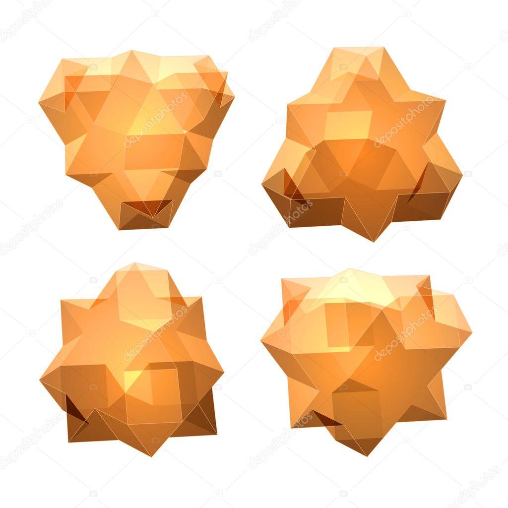 Jeu De Vues De Forme Géométrique Complexe Transparent destiné Jeu De Forme Géométrique