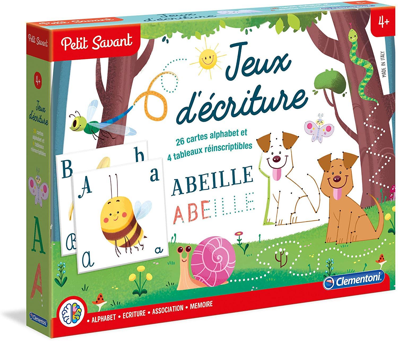 Jeu D'écriture Petit Savant destiné Jeux Memoire Enfant
