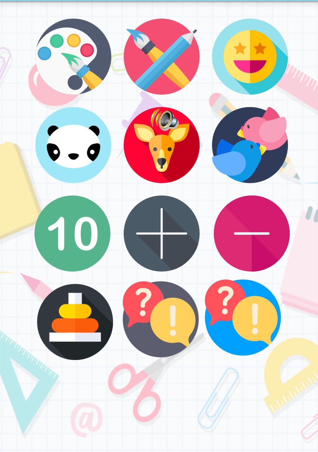 Jeu D'intelligence De 3 Ans Pour Les Enfants Pour Android intérieur Jeux Intelligents Pour Enfants