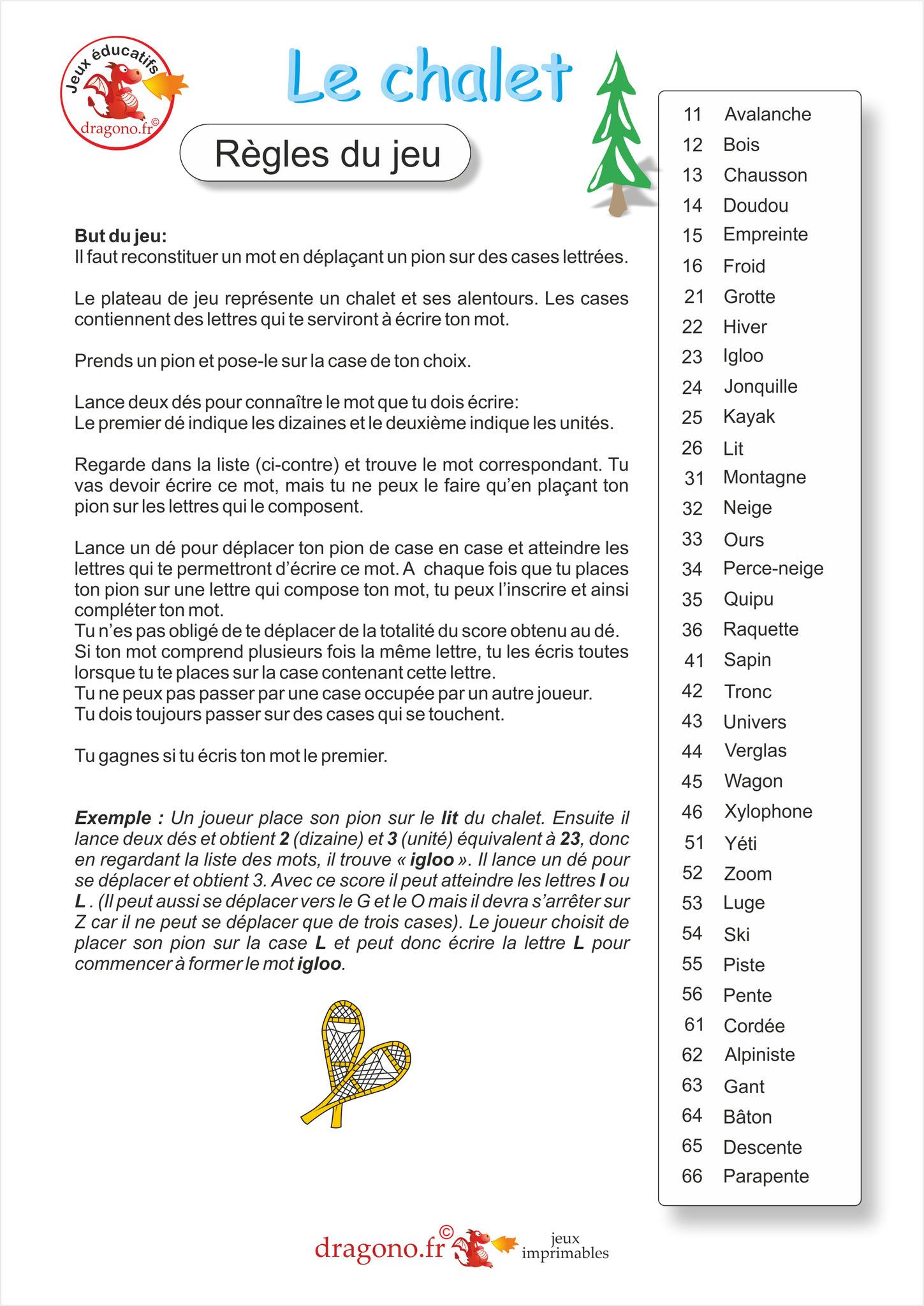 Jeu Éducatif À Imprimer Pour Apprendre L'orthographe Des pour Jeux De Lettres À Imprimer