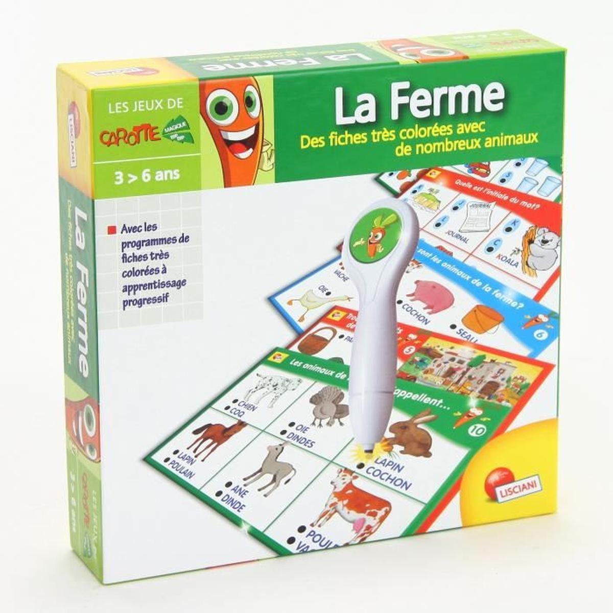 Jeu Éducatif Avec Stylo Intéractif - La Ferme - Achat encequiconcerne Jeux Educatif 5 6 Ans