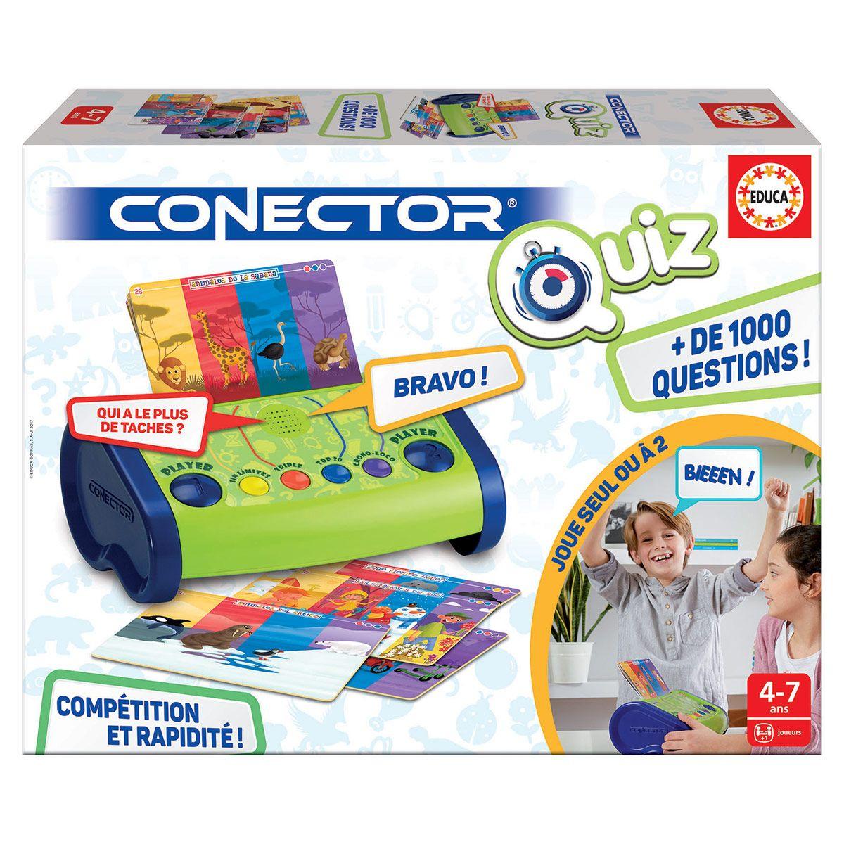 Jeu Éducatif Conector Quiz Junior - Jeux Éducatifs encequiconcerne Jeux Enfant 7 Ans
