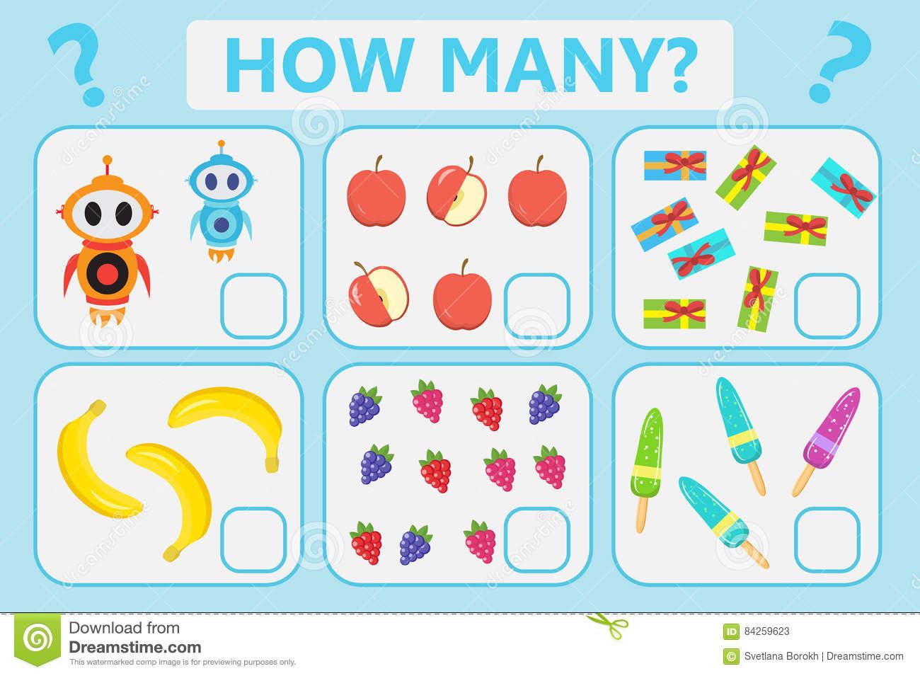 Jeu Éducatif De La Logique Des Enfants Tâche Mathématique destiné Jeux De Logique Enfant
