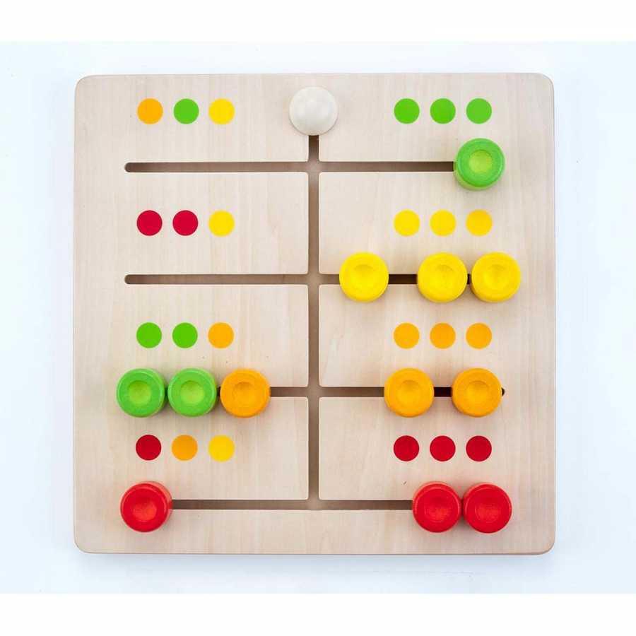 Jeu Éducatif En Bois De Motricité Coordination Reproduction pour Jeux Educatif 2 Ans