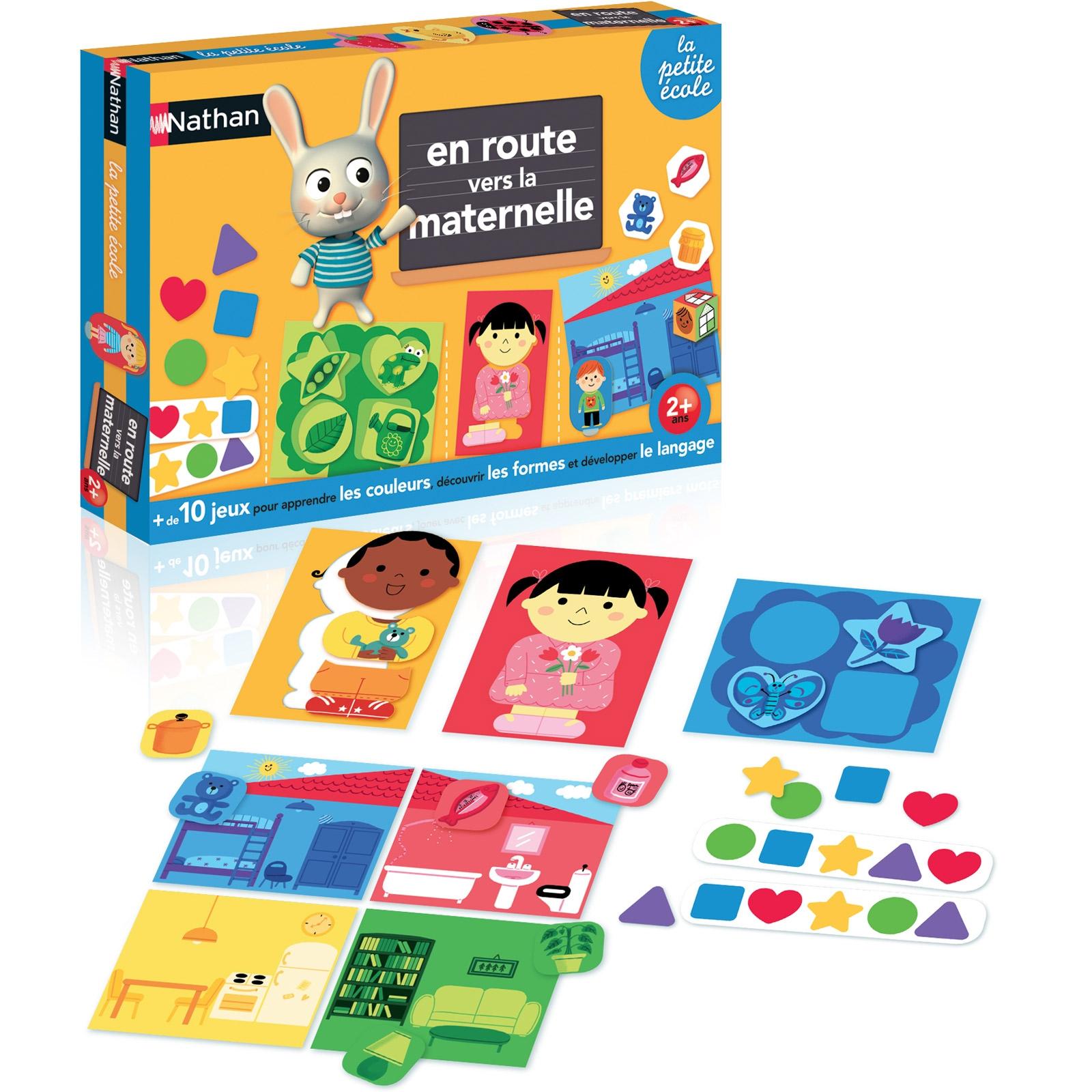 Jeu Éducatif En Route Vers La Maternelle tout Jeux Educatif 2 Ans